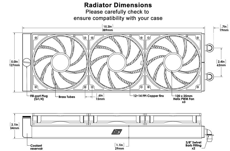 H320 dimensions
