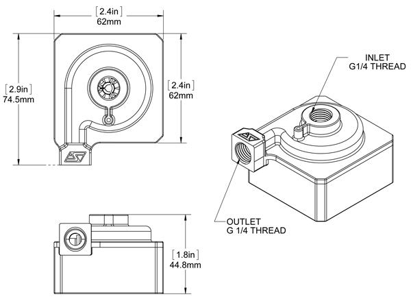 Mcp50x Pump Rouchon Industries Inc Dba Swiftech Pc