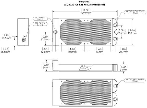 MCR220-QP Res R2 dimensions