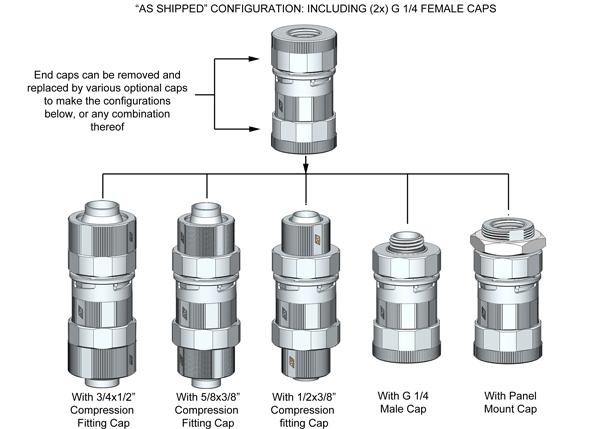 QC-NS configurations
