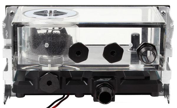 for MCP35 Series Pump White Swiftech MCP35X2-H Dual Pump Housing